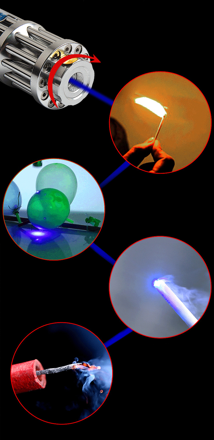 pointeur laser rechargeable