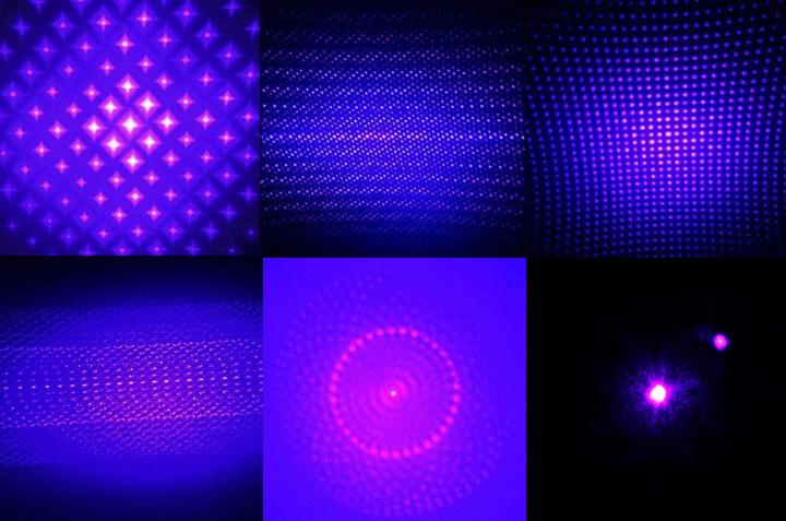 laser bleu-violet