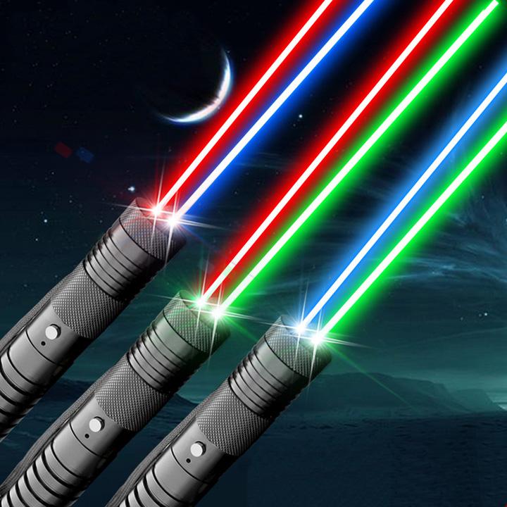 pointeur laser multicolore