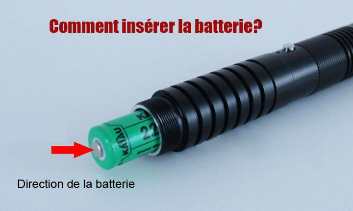 pointeur laser vert / bleu / rouge