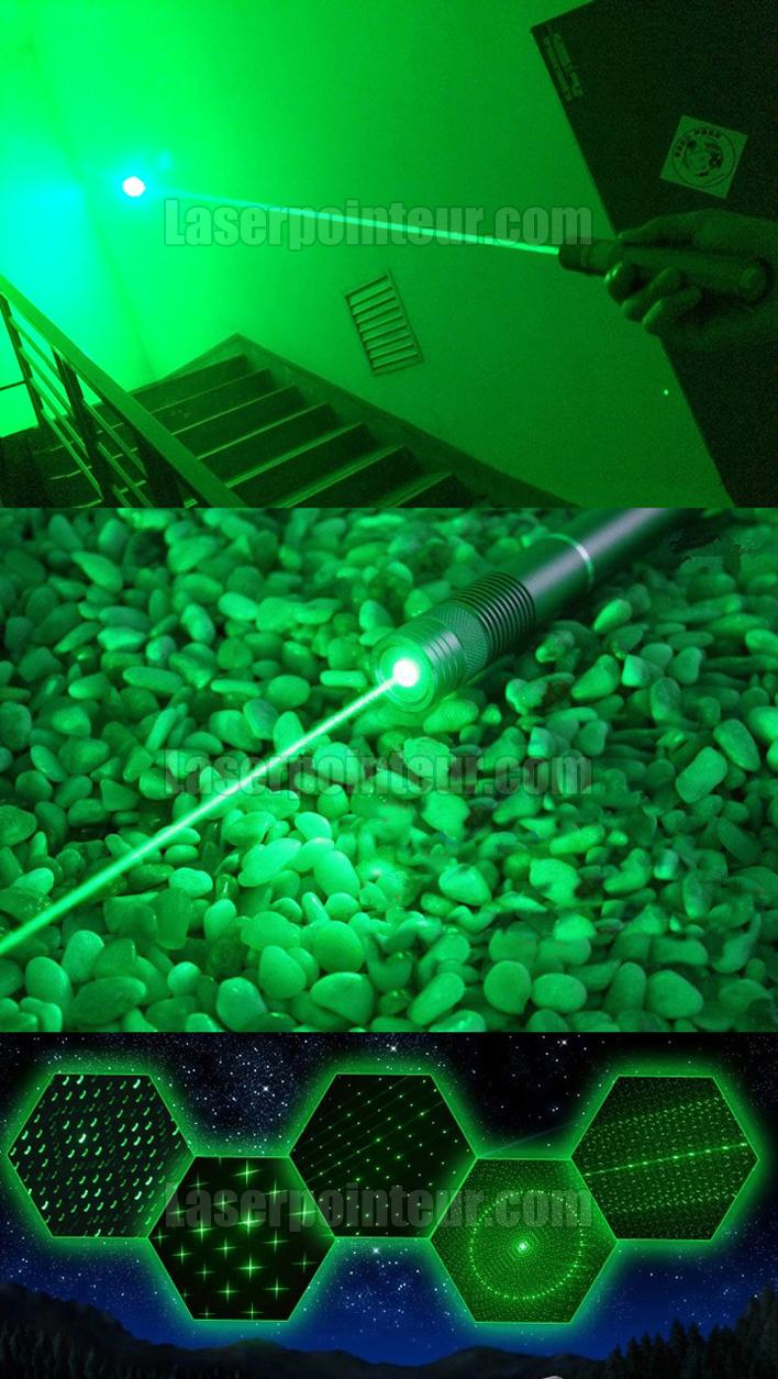 Pointeur laser 500mW vert étanche et pas cher