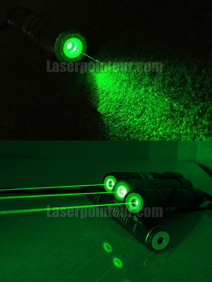 pointeur laser vert 200mw tanche avec 5 embouts. Black Bedroom Furniture Sets. Home Design Ideas