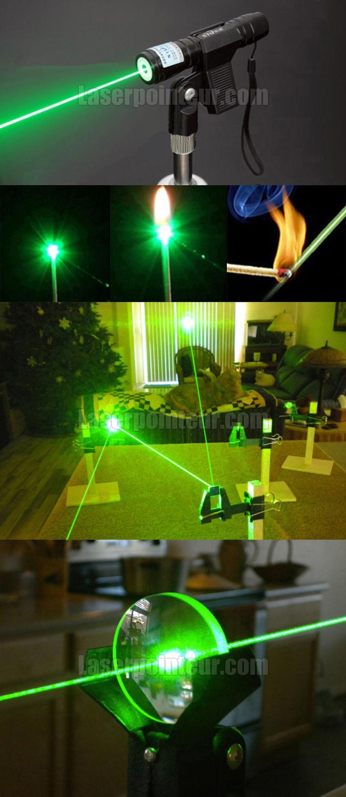 laser vert 100mW