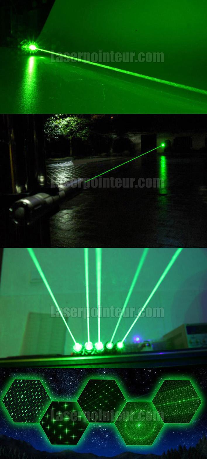 Pointeur laser vert 500mW très forte pas cher