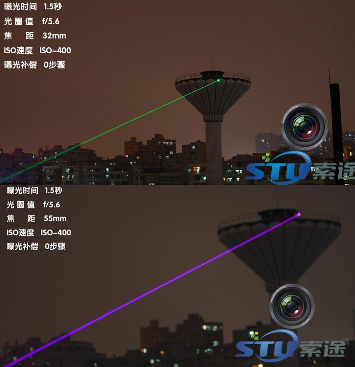 laser violet
