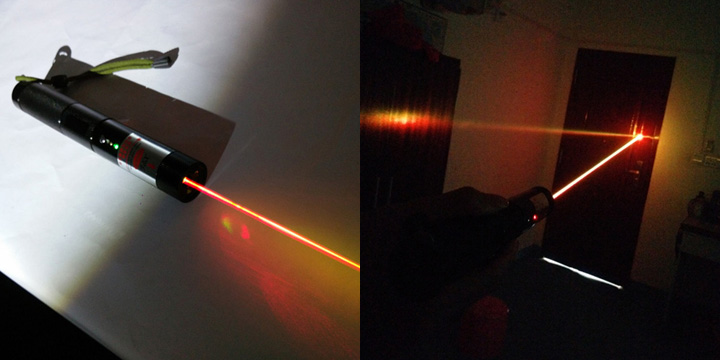 laser jaune