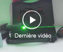 vidéo du pointeur laser